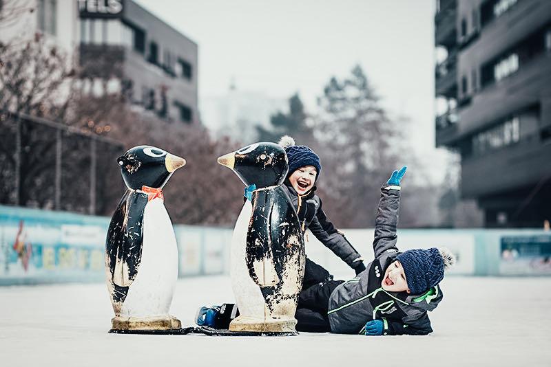 Impression aus der Grazer Winterwelt